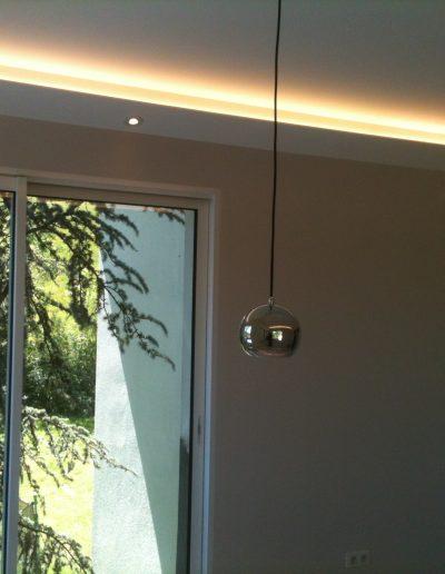 6 éclairage dissimulé dans corniche placo